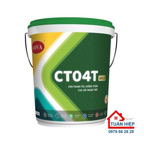 SƠN TRANG TRÍ, CHỐNG THẤM CAO CẤP NGOÀI TRỜI CT04T-GOLD