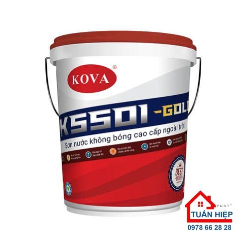 SƠN CAO CẤP KHÔNG BÓNG NGOÀI TRỜI K5501-GOLD