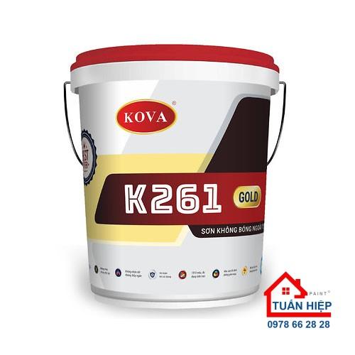 SƠN NGOÀI TRỜI KHÔNG BÓNG K261-GOLD