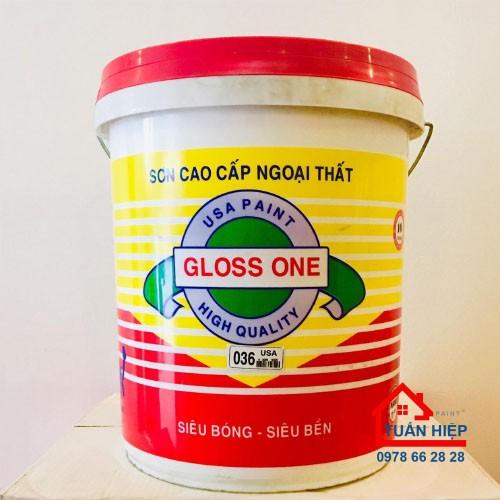 Sơn ngoại thất Bioti siêu bóng cao cấp GLOSS-ONE-EX