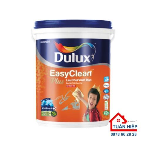 Sơn nước nội thất cao cấp Dulux Easyclean lau chùi vượt bậc bề mặt mờ 74A